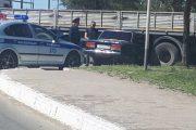 ДТП в Костанае: легковой автомобиль влетел под Камаз