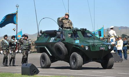 Казахстан начал экспортировать собственную оборонную продукцию
