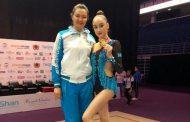 Казахстанка стала чемпионкой Азии по художественной гимнастике
