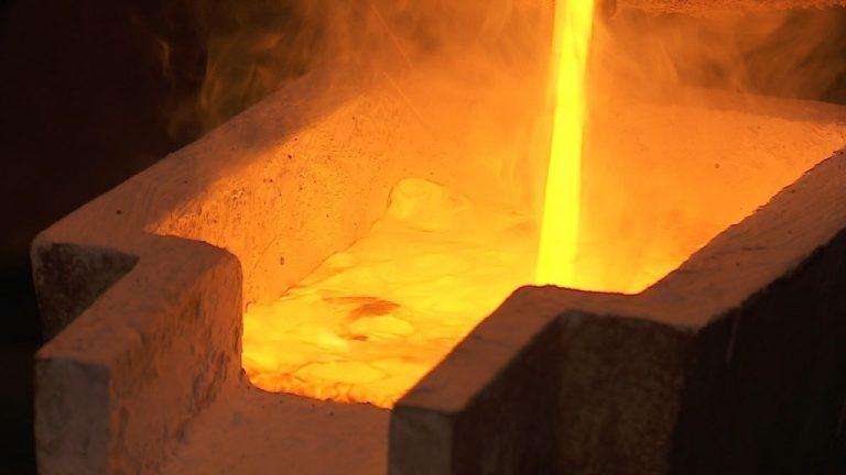 Золотой слиток стоимостью в 1 миллион долларов произвели в Костанайской области