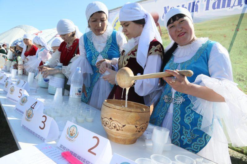 В Костанае впервые прошел праздник кумыса