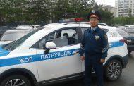 В Костанае выбрали лучшего местного полицейского