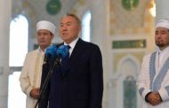 Назарбаев поздравил казахстанцев с праздником Ораза айт