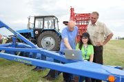 Комбайны, удобрения, технологии: День поля отпраздновали в Костанайской области