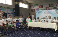 Участники веломарафона BLIND RACE ASTANA-PARIS посетили Костанай