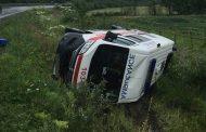 Пьяная женщина-водитель врезалась в скорую, которая перевозила ребёнка в Костанайской области