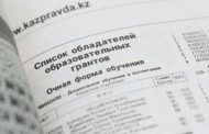 Опубликован список обладателей грантов в Казахстане