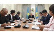 Президент Казахстана встретился с генеральным директором ВТО
