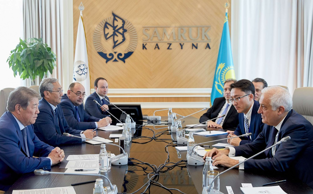 Казахстан и Eni будут совместно развивать альтернативные источники энергии