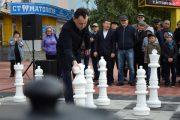 Открытый чемпионат по молниеносным шахматам проходит в Костанае