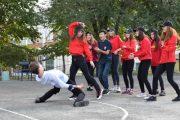 Марафон танцев провели студенты: лучшие номера будут показаны на концерте ко Дню пожилого человека