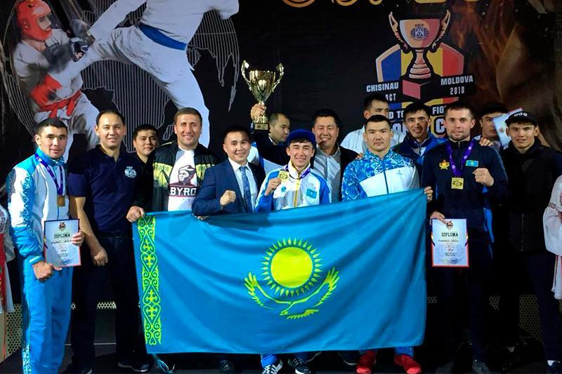 Казахстанский военнослужащий стал чемпионом мира по рукопашному бою