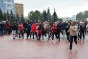 Свыше 800 студентов и  школьников  приняли участие в легкоатлетическом  пробеге