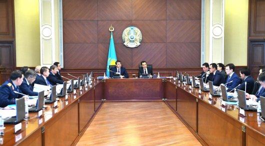 В правительстве рассмотрели вопросы исполнения Послания Президента РК