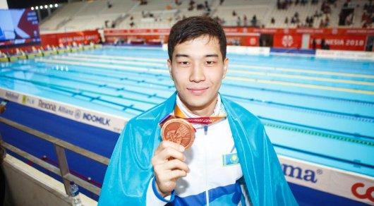 Казахстан выиграл две медали в первый день Азиатских Пара игр
