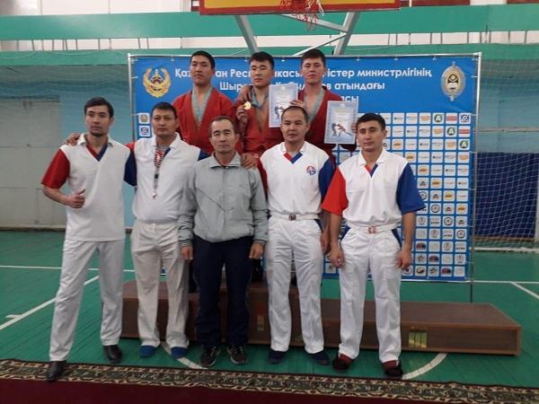 Завершился чемпионат Костанайской области по боевому самбо среди молодежи