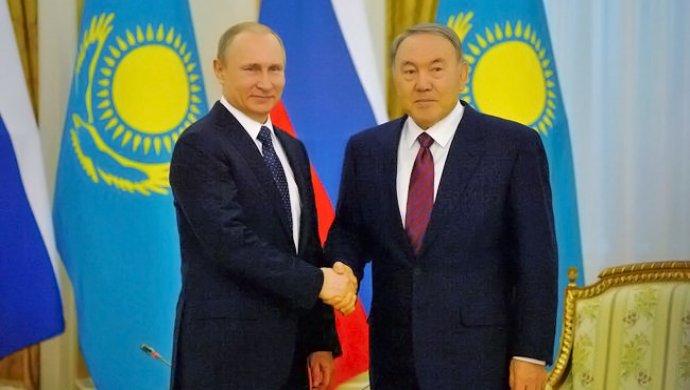 Владимир Путин прибыл в Астану
