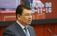 Бозумбаев — о задержании зама: Вице-министров мы не назначаем