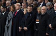 В Париже более 70 руководителей стран мира отметили столетие окончания Первой мировой войны