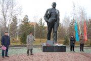 Коммунисты Костанайской области отметили 101 годовщину Великой Октябрьской революции