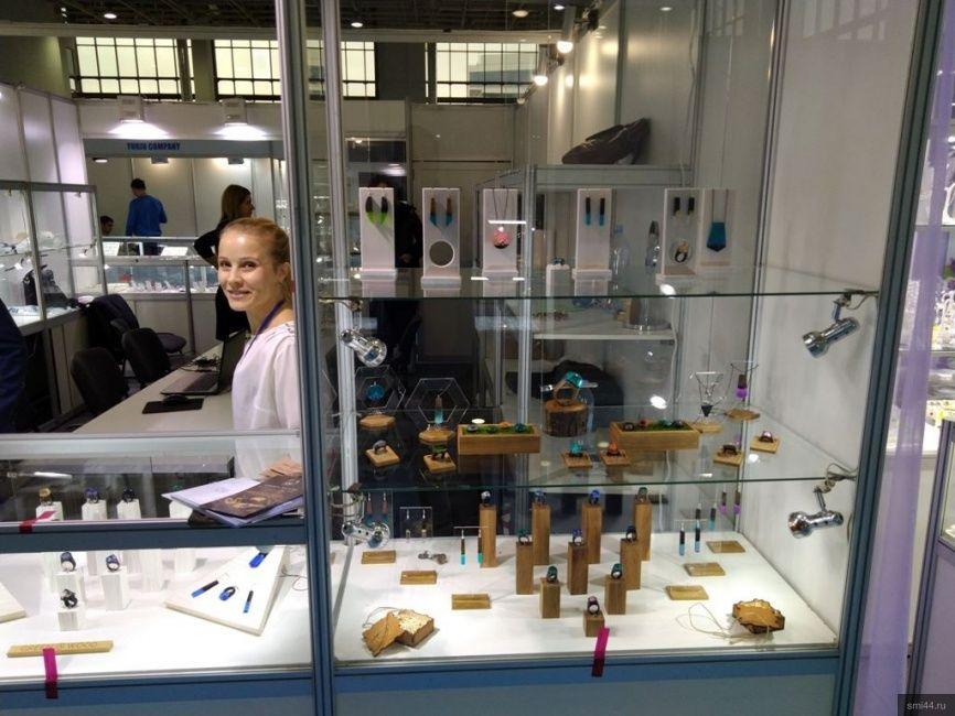 Костромские компании приняли участие в международной ювелирной выставки в Казахстане
