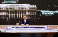 Назарбаев встретился с представителями СМИ. Запись эфира представят 28 декабря