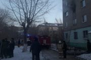 В Костанае один человек умер при пожаре, еще один — по пути в больницу