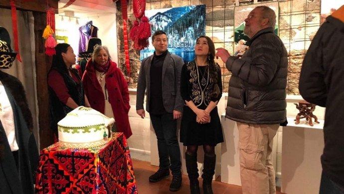 В Швеции открылась выставка казахской культуры