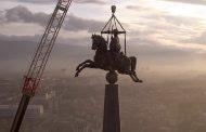 Гигантскую скульптуру казахстанского мастера установили в Турции