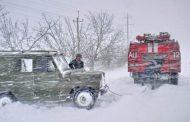 Что делать, если попал в снежную бурю на дороге