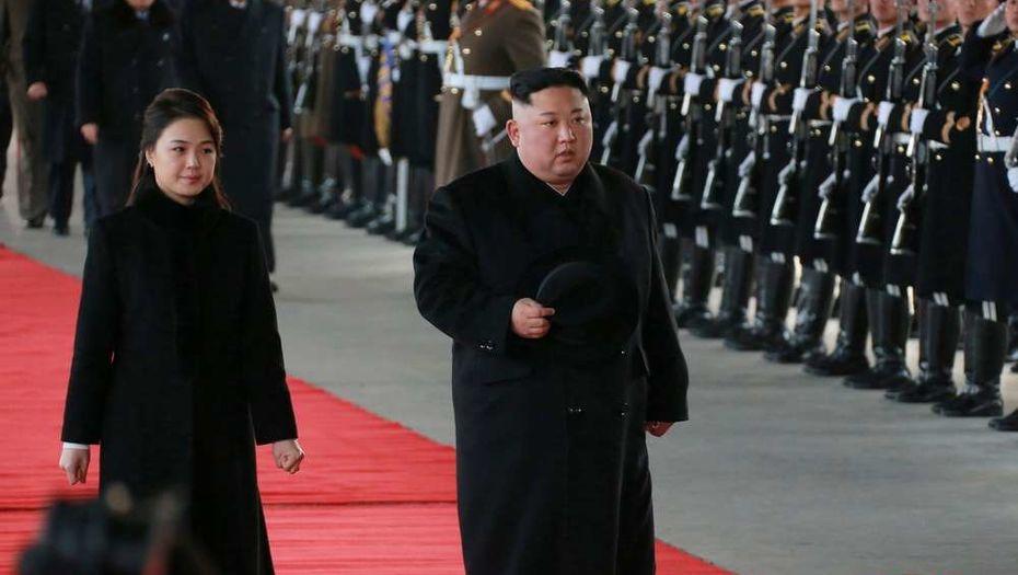 Ким Чен Ын приехал с официальным визитом в Китай