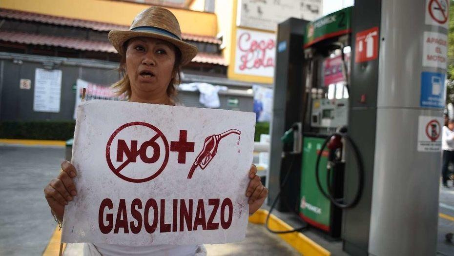 В Мексике начался бензиновый кризис, президент отказывается признавать дефицит