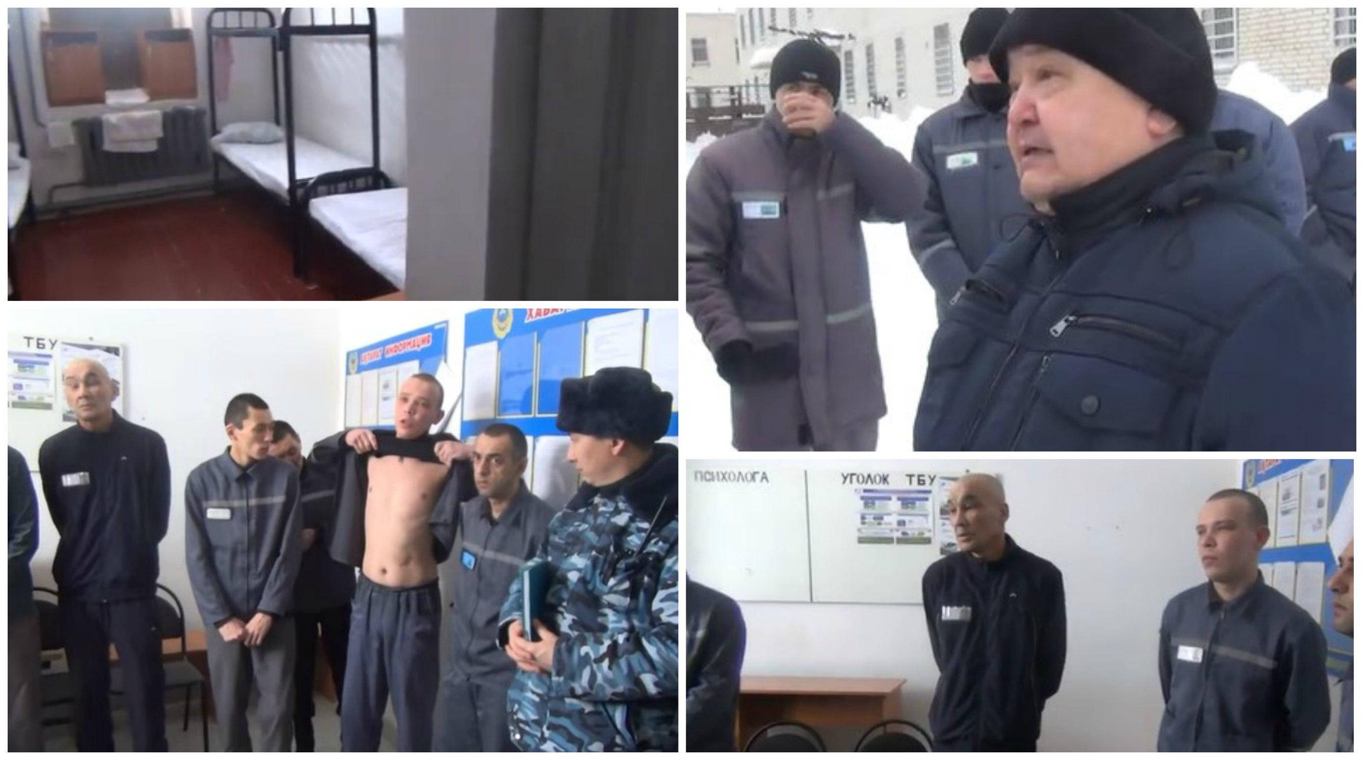 «Распяли в наручниках»: казахстанские заключенные рассказали о жизни в колонии (видео)