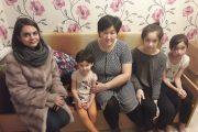 Представители общественного фонда «Жанашыр бол» посетили многодетную семью в Костанае