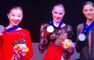 Элизабет Турсынбаева стала серебряным призёром чемпионата мира по фигурному катанию