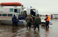 В двух областях закрыли дороги из-за паводков