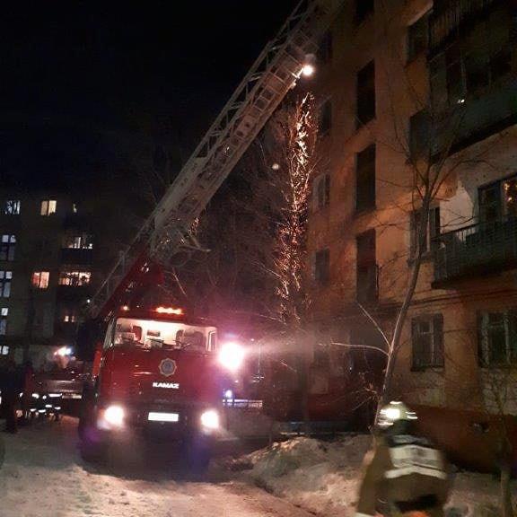 Хозяин квартиры, загоревшейся вчера в Лисаковске, погиб на месте