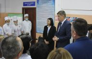 Министр здравоохранения РК Елжан Биртанов посетил ряд медицинских учреждений в Жанаозене