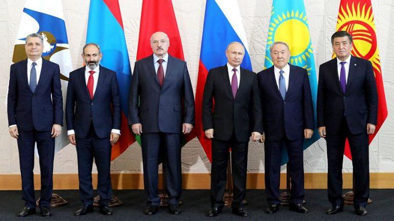 Юбилейный саммит ЕАЭС пройдет в столице Казахстана в мае