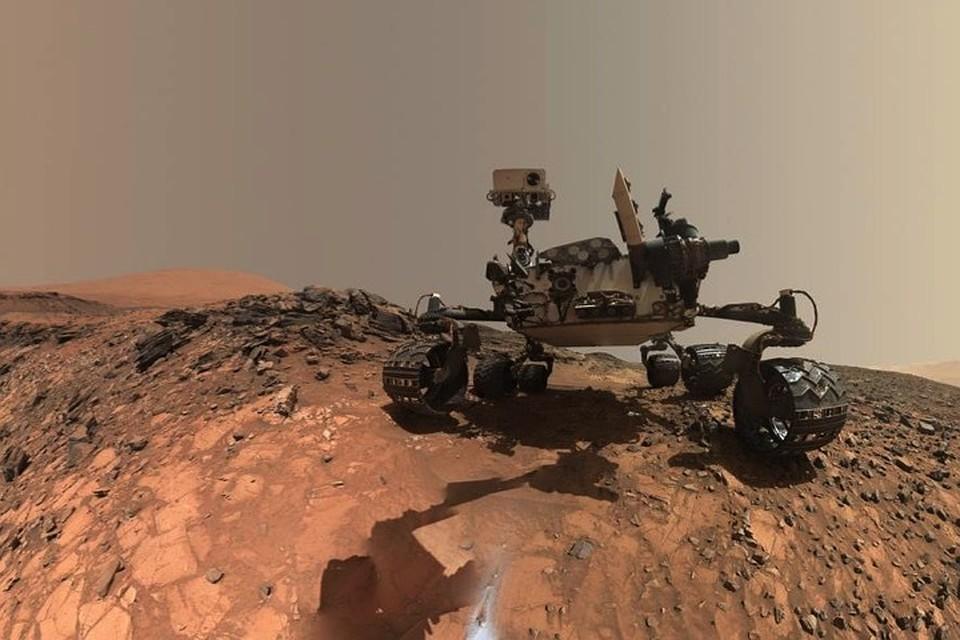 Марсоход нашел неизвестные науке организмы