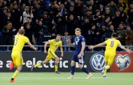 Казахстан разгромил Шотландию в квалификации чемпионата Европы по футболу