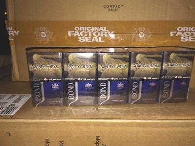 На российско-казахстанской границе пресекли контрабанду сигарет