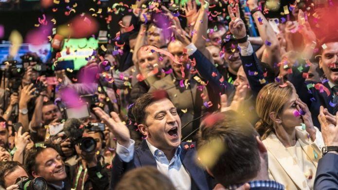 «Это возможно». Как Украина выбрала президентом Владимира Зеленского