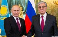 О чем говорили президенты Казахстана и России в Кремле