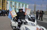 Житель Костанайской области отправится на трицикле покорять Берлин