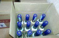 В рейсовом автобусе из Казахстана пытались провезти более ста немаркированных бутылок алкоголя