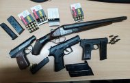 Омича с полным багажником оружия задержали на границе с Казахстаном