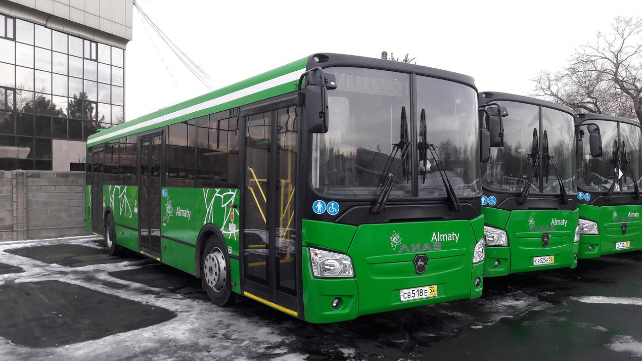 Производство автобусов в Казахстане выросло в 7 раз