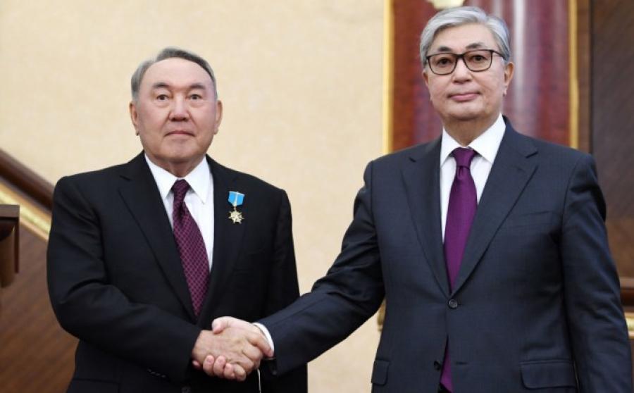 Назарбаев: Токаев продолжит начатое дело и обеспечит преемственность