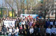 О военном времени, радости и горе спели воспитанники дворовых клубов Костаная